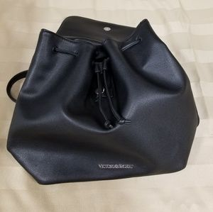 Victoria's Secret Flirty Black Backpack